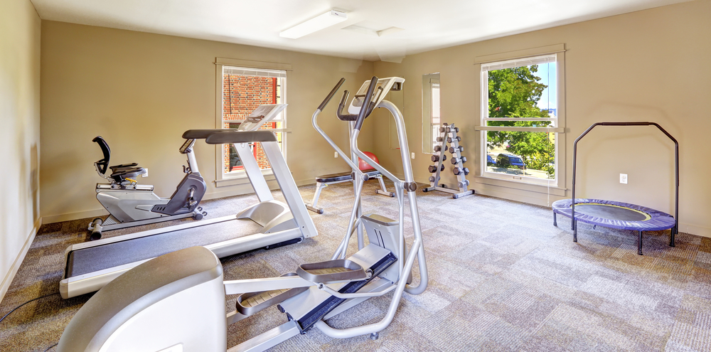 at home gym empty nester